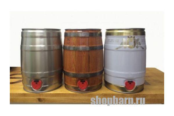 Бочонок для дображивания пива на 5 литров