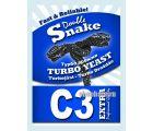 Дрожжи спиртовые турбо Double Snake C3 Extra