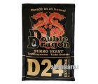 Дрожжи спиртовые турбо DoubleDragon D24