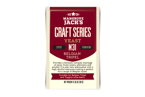 Дрожжи пивные Mangrove Jack's Tripel M31